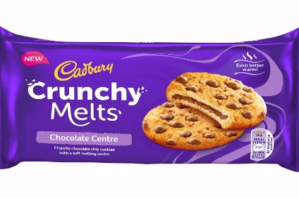 "Mondelez said UK consumers were ""trading up"" in biscuit purchases"
