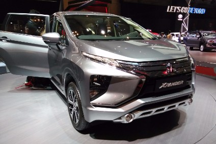 The star of the show no doubt was the new Mitsubishi Xpander compact seven-seater MPV, which made its world debut