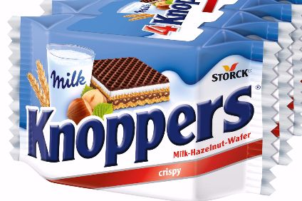 Storck to launch TV push for Knoppers next month