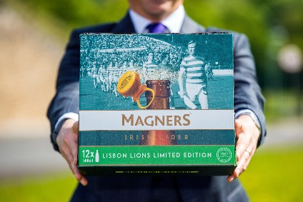 C&C Group strikes home-delivery deal for special-edition Magners packs