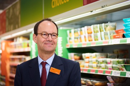 Sainsburys CEO Mike Coupe - concerned about food supply shortages
