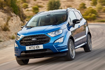 EcoSPort restyle for Europe is similar to that announced earlier for South America. Production has moved from India to Romania