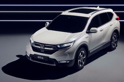 Honda introduced a hybrid version of the new crossover CR-V