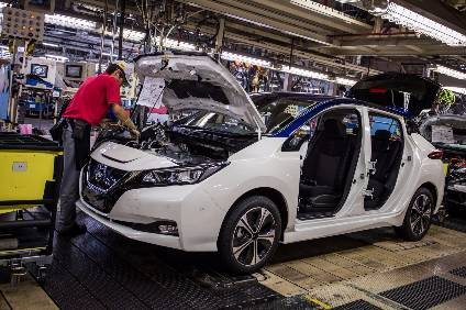 Nissan is wasting no time in adding new manufacturing sites for the atest Leaf