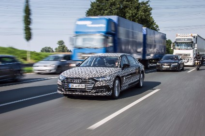 Audi claims a world first for the new A8s AI traffic jam pilot with SAE level 3 conditional automation