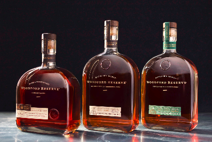 New Woodford Reserve bottles will launch in the UK this month