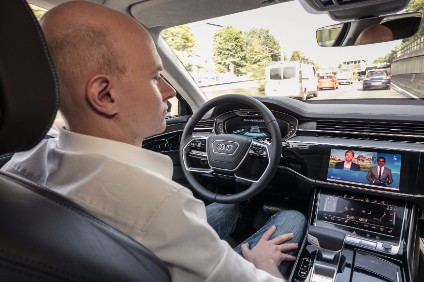 AGC glass screens in the redesigned A8s cockpit