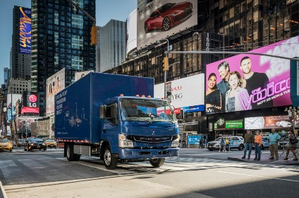 Fuso sees electric trucks as key to the future of inner city distribution