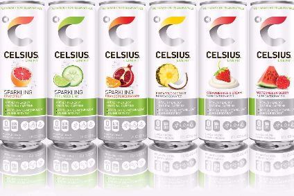 Celsius targets increased US availability of functional water portfolio