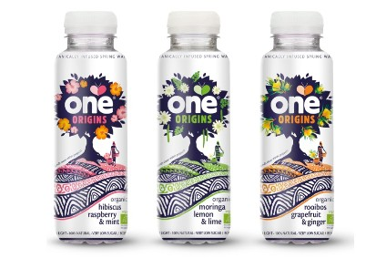 One Drinks has used three botanicals in its new One Origins range
