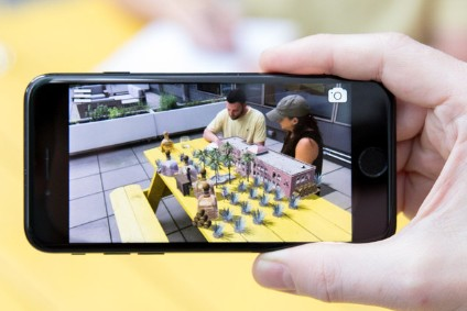 Patrons augmented reality app allows consumers to virtually plant the companys hacienda on any flat surface