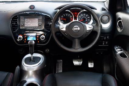 Charming Funky Interior Design: Nissan Juke Is A Leader Of The B Segment Crossover  Sector