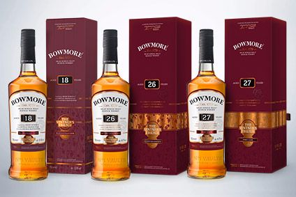 Bowmore Vintners Trilogy is rounded off by Bowmore 27 Year Old Port Cask