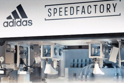 The Speedfactory facility uses robotic technology to combine fast response with the flexibility to offer products that are uniquely customised for individual consumers