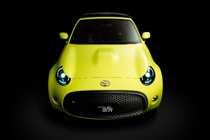 A small sports car based on the S-FR concept is said to be under development