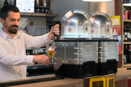 Heineken's Blade draught system was unveiled earlier this month