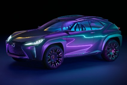 Ux Concept Shows The General Outline Of A Future Suv Below Nx