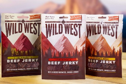The Meatsnacks Group range includes Wild West brand