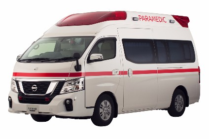 Nissans fifth generation ambulance is based on NV350 Caravan launched earlier this year