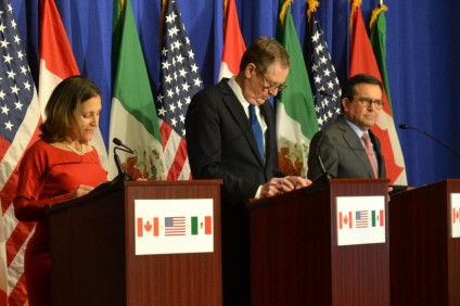 NAFTA talks set to enter 2018