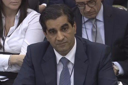 Ranjit Boparan appeared before a parliamentary hearing in October