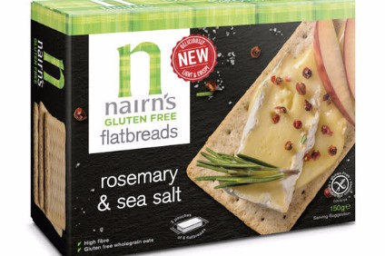 Nairns new gluten-free flatbreads - its entry into the lunchtime market.
