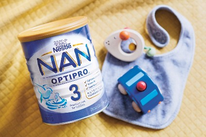 Nestle - defending its infant formula claims.