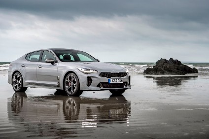 New models such as the Stinger pictured and Stonic have given Kia a YTD boost in its home market