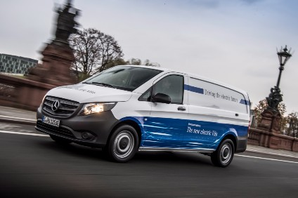 d201dba4d9 Daimler s Mercedes-Benz Vans plans to offer all its commercial van model  lines with electric drive