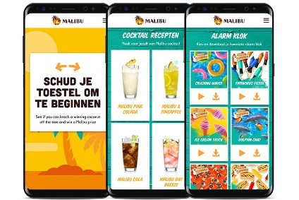 Pernod Ricards new Malibu activation includes an interactive game