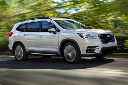 Subaru dived into the US three row SUV pool this week. Just what the snow belt ordered