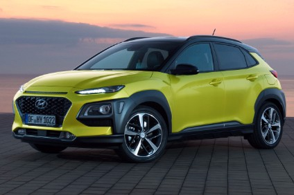 Hyundais overseas sales continued to drop sharply last month despite the launch of the new Kona SUV in export markets