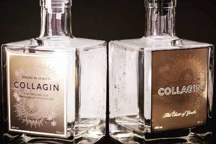 "CollaGin contains ""age-defying botanicals"" and drinkable pure collagen"