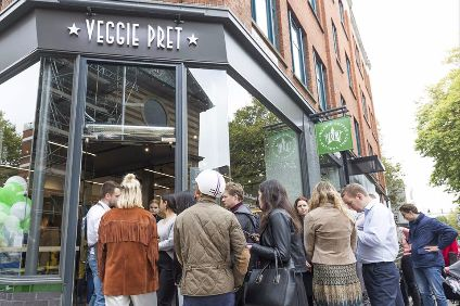 "Pret may have ""underestimated"" UK demand for veggie and vegan food, CEO has said"