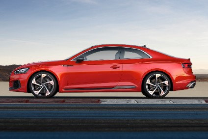 New RS 5 Coupe costs from £61,015