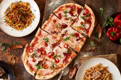Zizzi pizza - now available at Sainsburys.