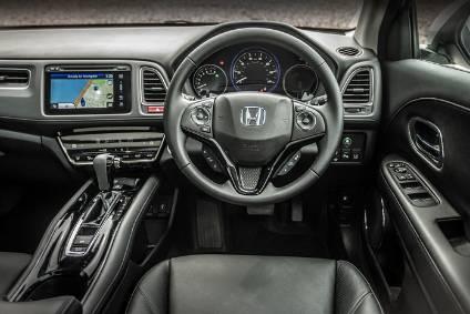 interior design and technology honda hr v automotive industry