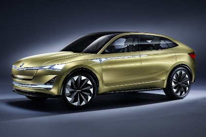 Škodas future electric crossover should look similar to this, the Vision E concept