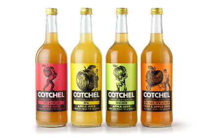 "George Thompson said the aim of Cotchel is to ""give a new lease of life to fruit which is too big, too small or too ugly"""
