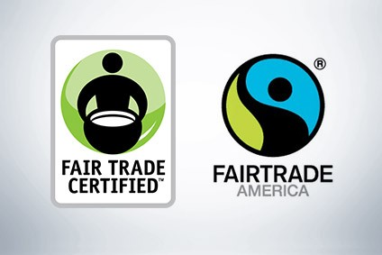 Fair Trade USA, which broke away in 2011, uses Fair Trade Certified mark; Fairtrade America the Fairtrade International organisation for US