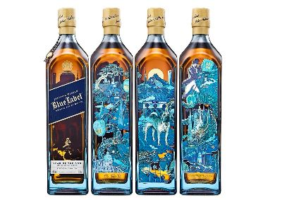 Johnnie Walker Blue Label Year of the Dog bottles were created in collaboration with Taiwanese artist Page Tsou