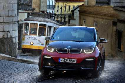 The Electric I3s Is The First BMW Model To Get The New System