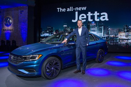 Latest US Jetta is almost as big as European Passat