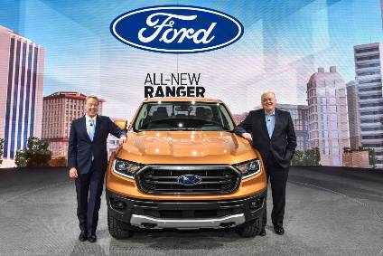 Wayne is being tooled up to (re)launch the Ranger truck in the US, from 2019