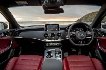 Interior Design And Technology Kia Stinger Automotive