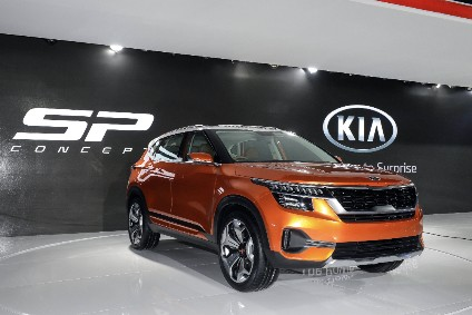 An SUV based on the SP concept will be built at Kias under-construction Indian factory
