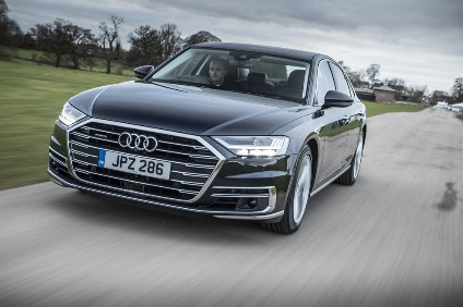 A8 launches in UK with two three  litre V6s. More powertrains, inlcuding a PHEV, and additional options will follow