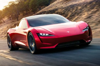 Tesla Says Its Future Sports Car Will Have A Top Sd Of Over 400km H