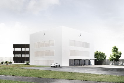Bricks and mortar, or something like that, for Polestar on the Volvo Cars campus