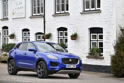 The Jaguar E-Pace is supporting brand volume this year